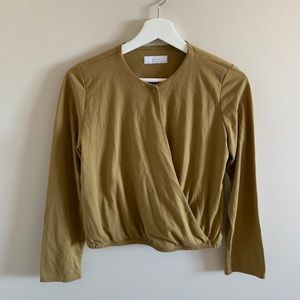 Oak and Fort Long Sleeve Blouse